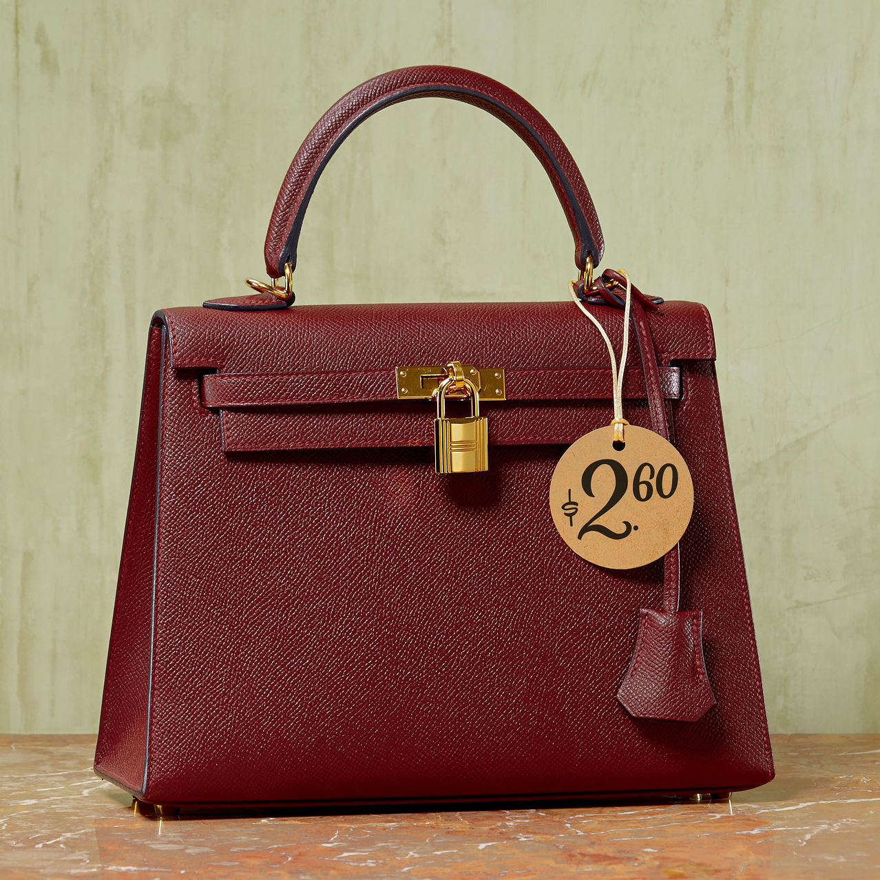"""THE 3,650-DAY BARGAIN This Hermes Kelly bag will set you back $9,500 but if you carry it every day for 10 years, the cost a day will be only $2.60. Kelly 25"""" Bag, $9,500, Hermès, 800-441-4488"""