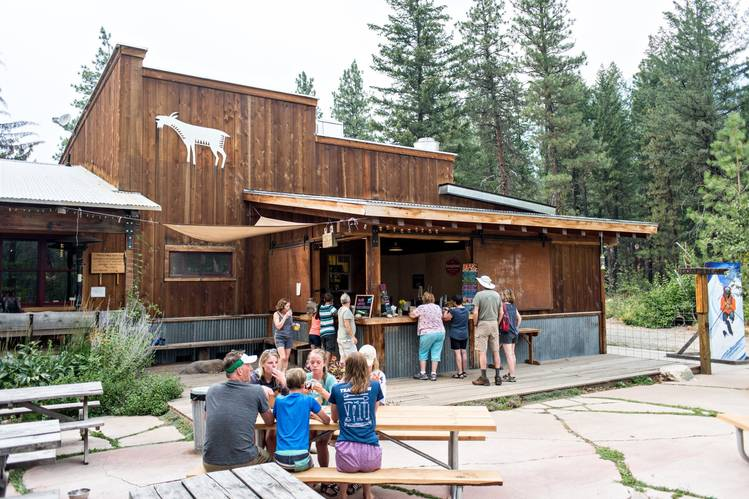 The Mazama Country Store is where locals go to eat, shop and listen to music.