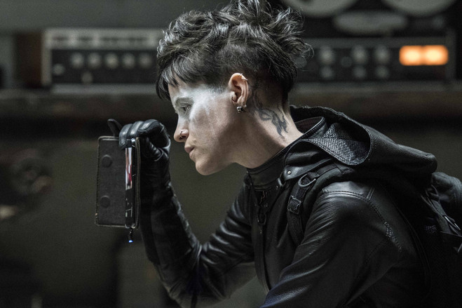 Claire Foy as Lisbeth Salander in 'The Girl in the Spider's Web,' coming out later this year.