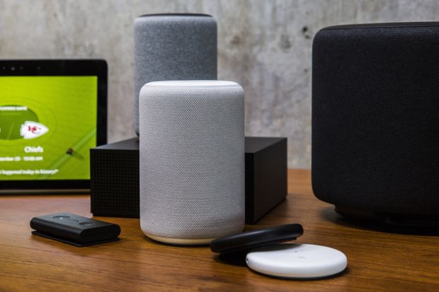 Smart devices, such as Amazon's Echo, which uses the Alexa voice assistant, are growing in popularity.