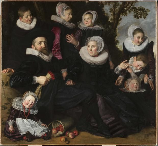 The Hals work formerly known as 'Family Portrait in a Landscape,' which is a fragment of his 'The Van Campen Family in a Landscape' (c. 1623-25)