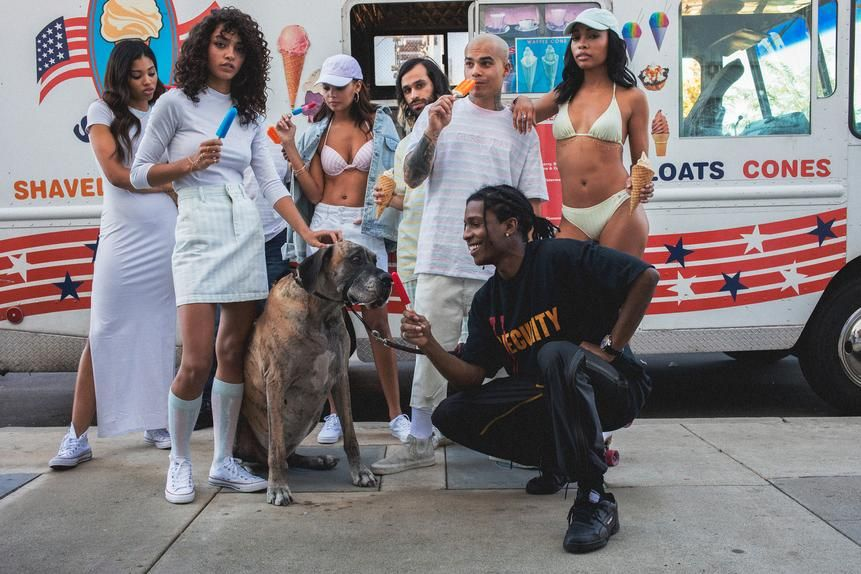 In partnering with popular rapper A$AP Rocky, Guess gave a millennial-minded marketing hook to its retro-tinged collection.