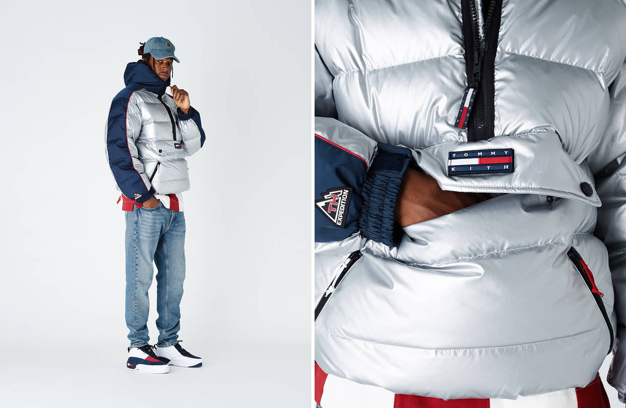 Earlier this year, Tommy Hilfiger collaborated with New York streetwear store Kith on a collection of reissued retro designs.