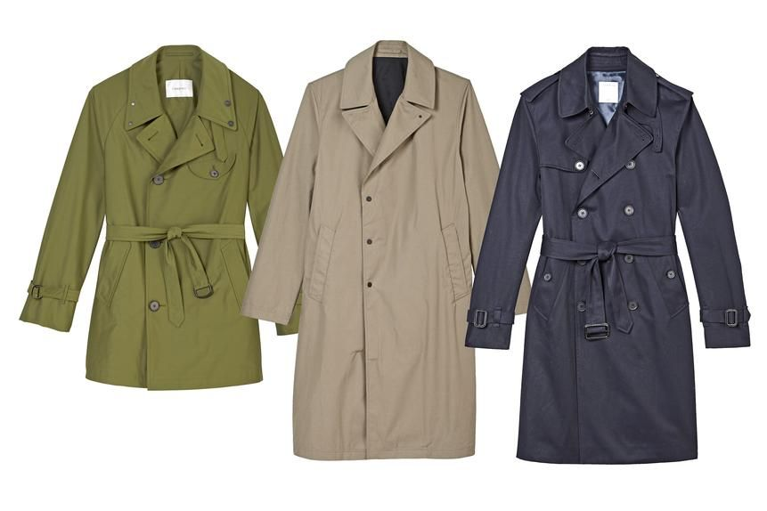 How To Wear a Men's Trench Without Looking Corny