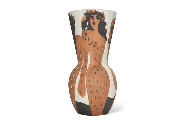 One of Picasso's vases. Ceramics were in focus at several auctions in London, as well as the art fair Frieze.