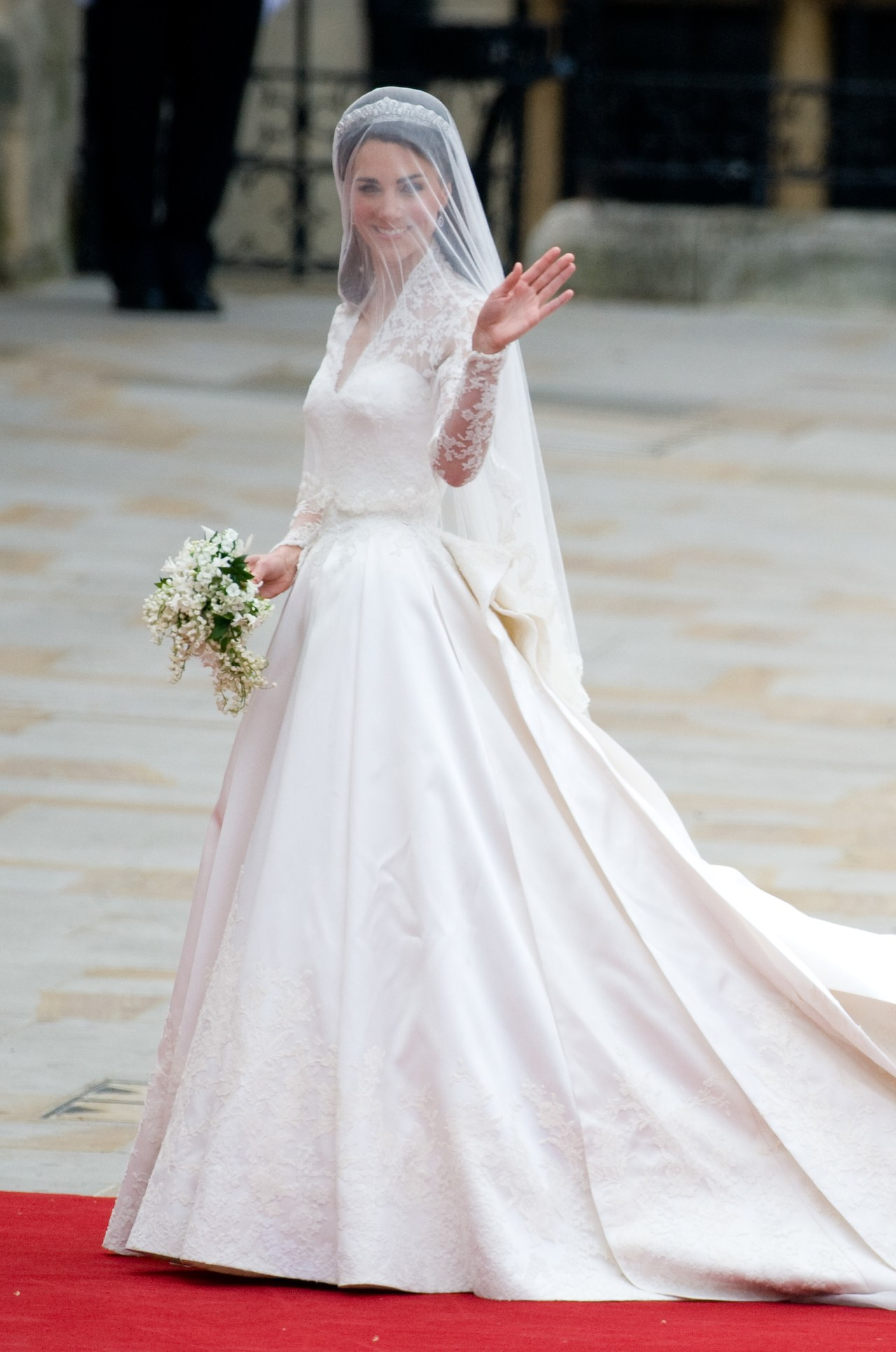 The Wedding of Prince William with Catherine Middleton - Westminster Abbey