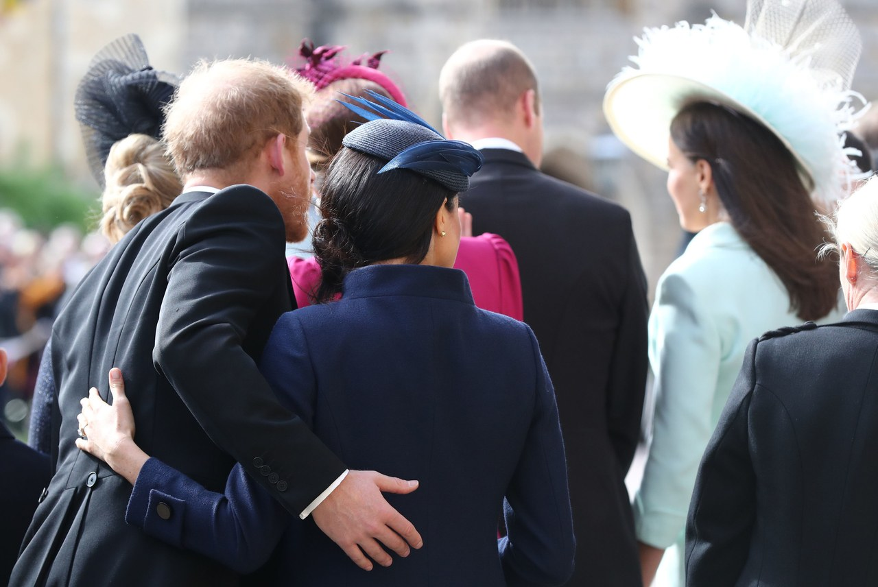 Meghan & Harry Couldn't Be More Adorable at Princess Eugenie's Wedding 4