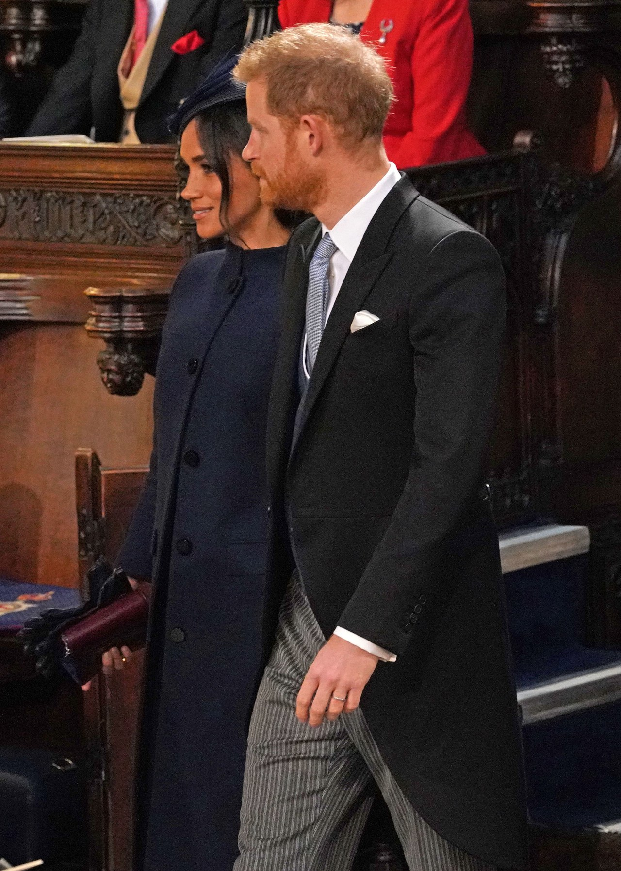 Meghan & Harry Couldn't Be More Adorable at Princess Eugenie's Wedding 5
