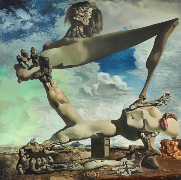 Salvador Dalí's 'Soft Construction with Boiled Beans (Premonition of Civil War)' (1936)