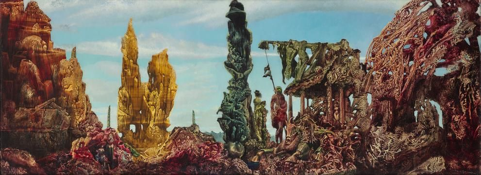 Max Ernst's 'Europe After the Rain II' (1940-42)