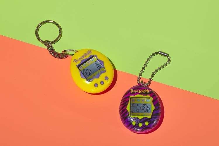 PET PROJECTS Beyond a flashy paint job, the new 2018 model differs little from the 1997 Tamagotchi—but that's part of the kick.
