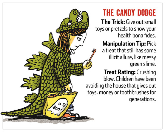 Parents Trick Children Out of Halloween Candy