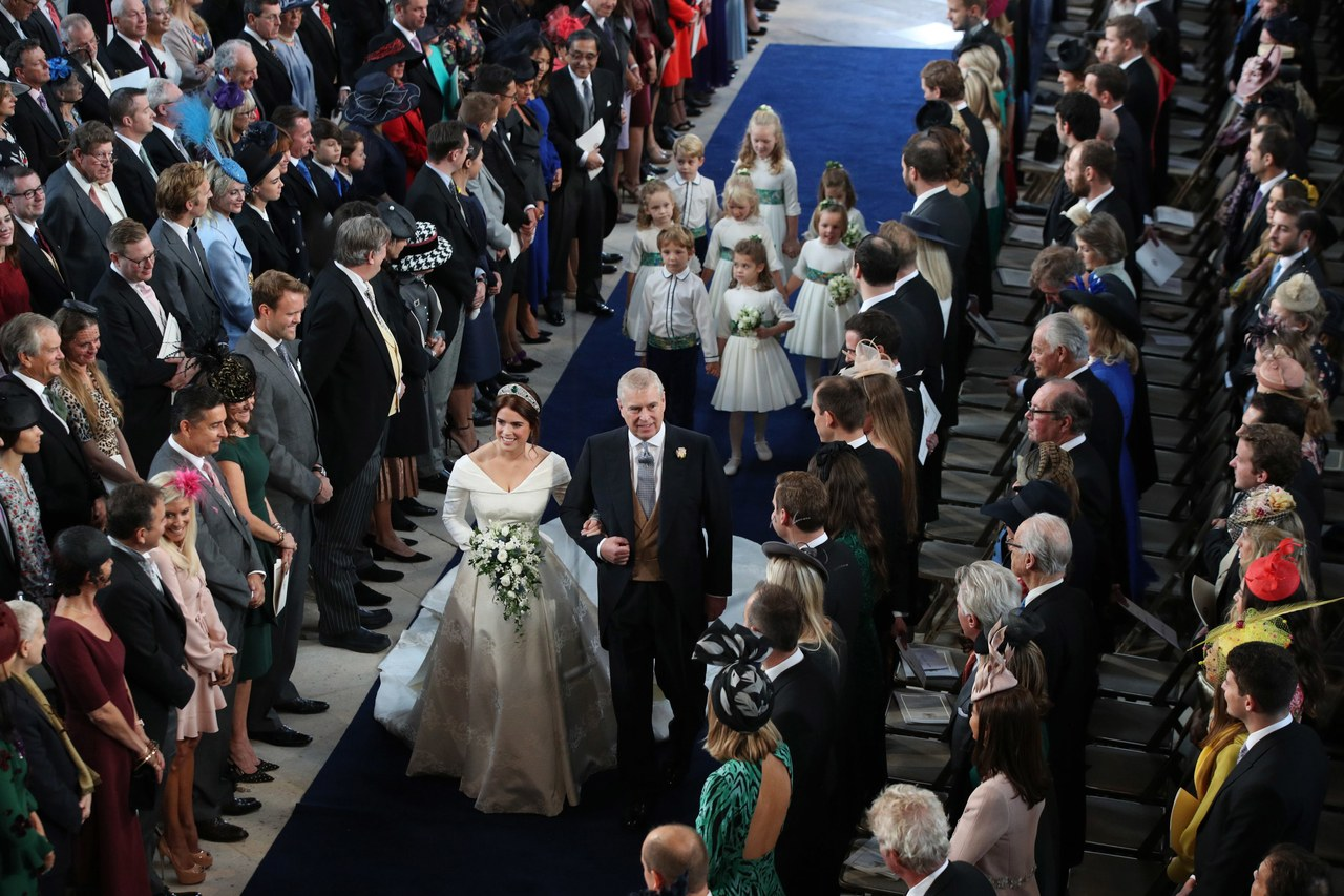 Jack Brooksbank Said the Sweetest Thing as Princess Eugenie Walked Down the Aisle 1