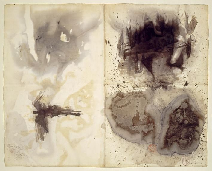 Victor Hugo's 'Stains' (c. 1875)