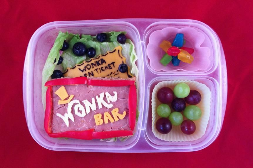 Beau Coffron creates an elaborate themed lunch each week, such as Willy Wonka & the Chocolate Factory.