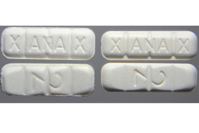 Pfizer last year conducted a pilot with law enforcement testing 138 samples of Xanax purchased from the dark web and found only seven samples were authentic. Here is a sample of fake Xanax bought from an online site.