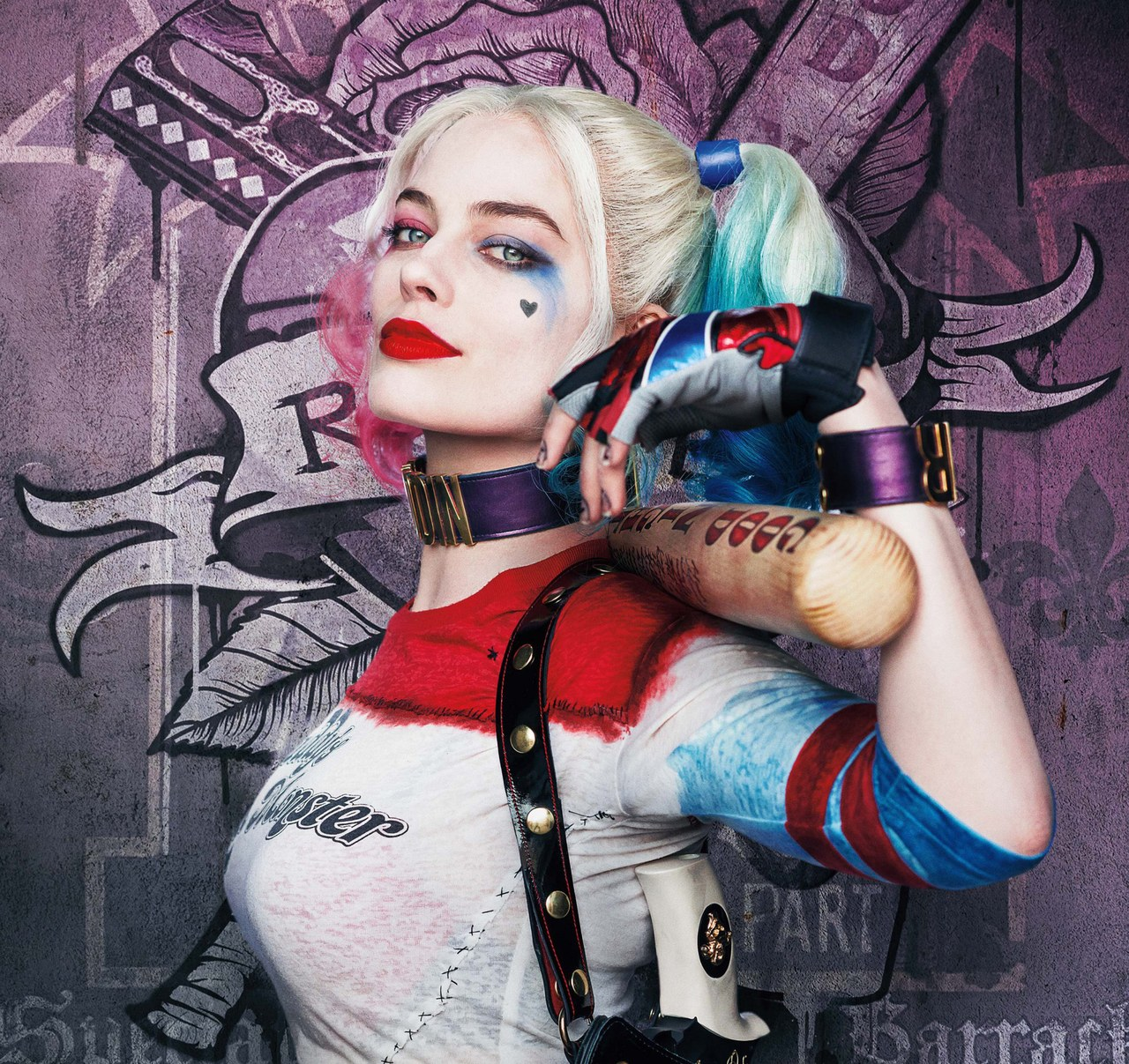 SUICIDE SQUAD, US character poster, Margot Robbie as Harley Quinn, 2016. © Warner Bros. / courtesy