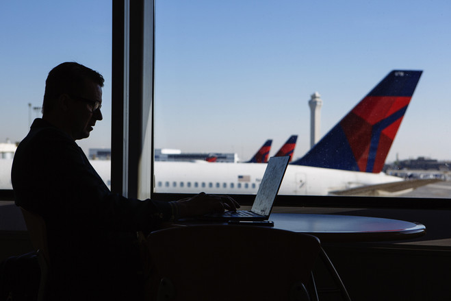 Some companies are more likely to allow road warriors to take a direct flight even if it costs more.