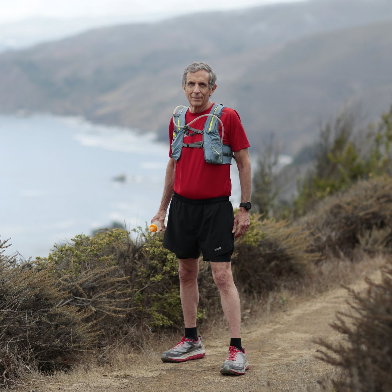 Eric Spector, 71, started trail running when he moved from New York City to Marin County, Calif., in 1988 and hasn't pounded the pavement since. Owl Trail near Muir Beach is one of his favorite local runs.