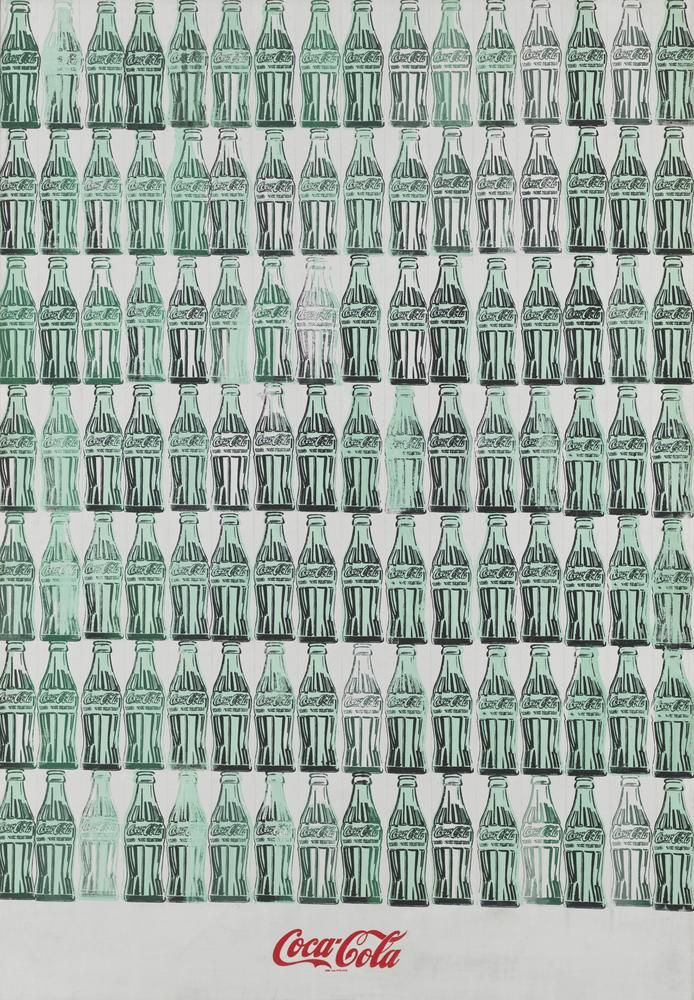 Andy Warhol's 'Green Coca-Cola Bottles' (1962)