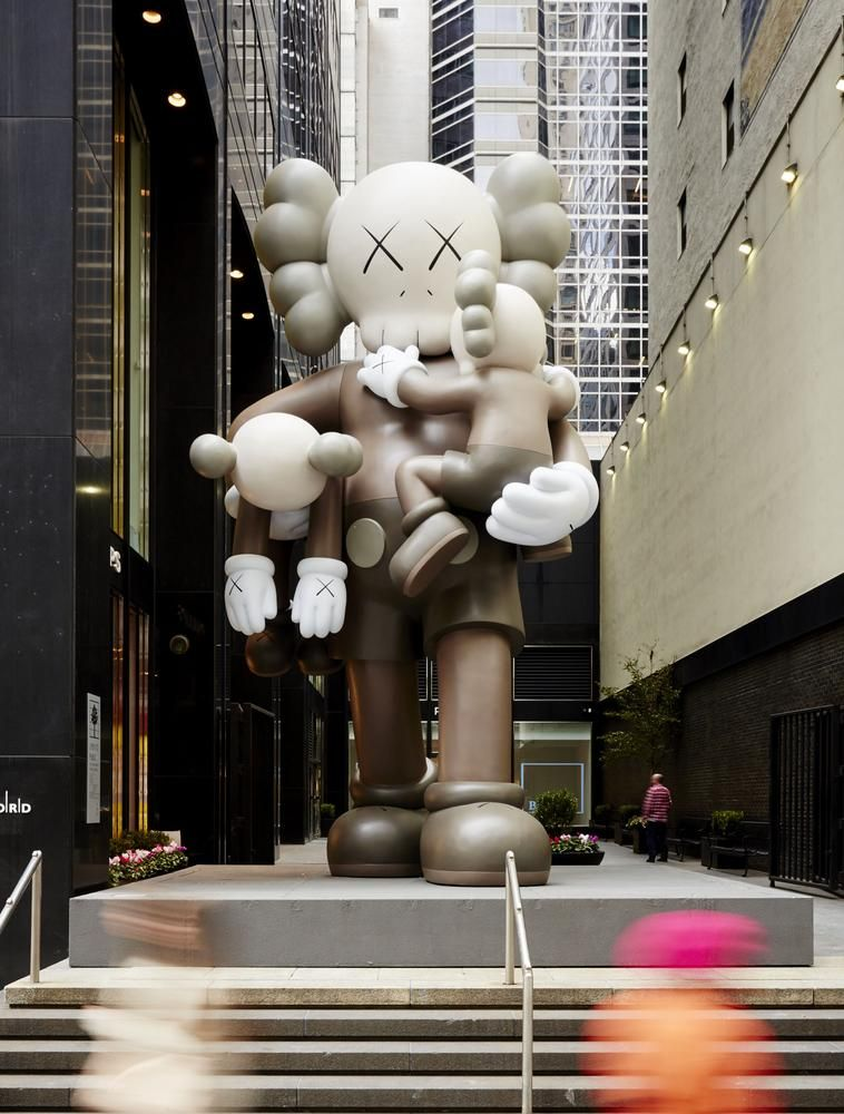 'Clean Slate,' a 25-foot-tall KAWS sculpture, is estimated to sell for at least $900,000.