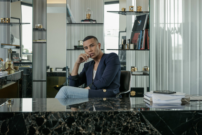 Mr. Rousteing, the first black creative director of a big luxury label in many years, says black designers at last are getting the recognition they merit.