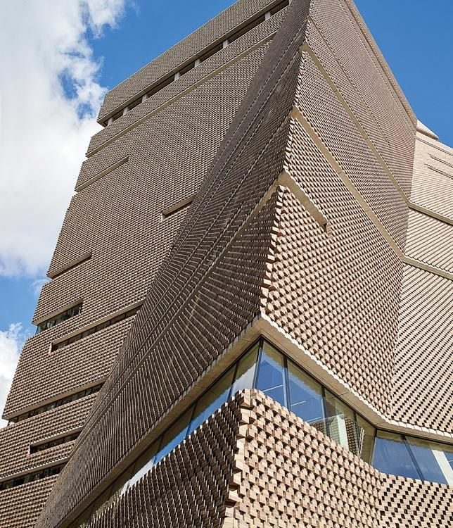 The Tate Modern Switch House, an addition to the London museum.