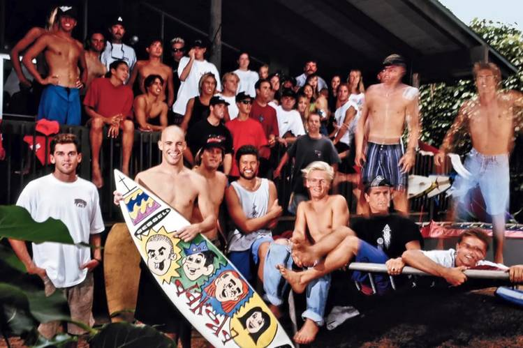 'Momentum Generation' follows young surfers in Hawaii as they become stars and rivals in the sport.