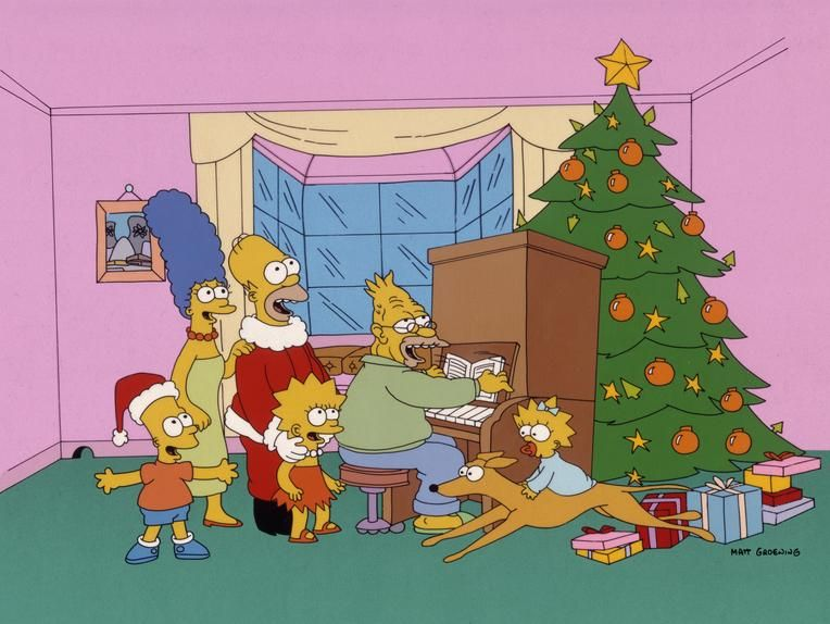 'I was hooked from the first d'oh': 'Simpsons Roasting on an Open Fire,' a Christmas special, aired in 1989.