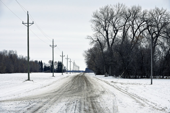 The population of Cavalier, N.D., surrounded by farms, has been shrinking and those who remain face long drives for services they need.