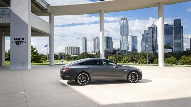 The Mercedes-AMG GT 63 S 4-Door Coupe ($185,000, as tested, estimate) is the sedan flagship from Daimler's nascent luxury-performance brand, based in Affalterbach, Germany, near Stuttgart. The division's previous cars include the SLS AMG, the Mercedes-AMG GT Coupe and Roadster.