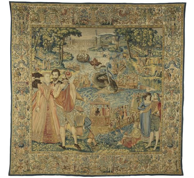 'Whale,' from the Valois Tapestries, c. 1576.