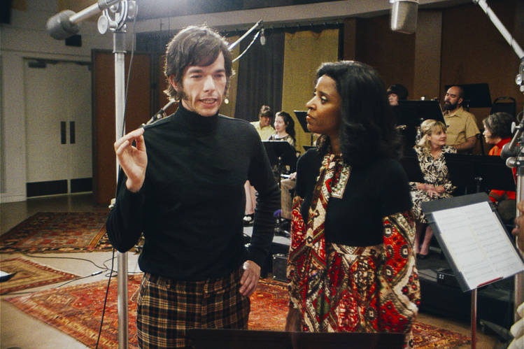 John Mulaney and Renee Elise Goldsberry in 'Documentary Now.'