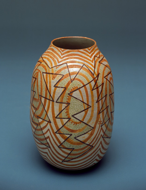 Nathan Begaye's 'Snow Cloud' jar (1998)