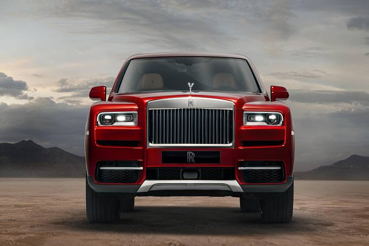 HIGH ROLLER The Cullinan SUV stands 6 feet tall, 17.5 feet long, but offers just 21 cubic feet of cargo—too measly for a family trip.