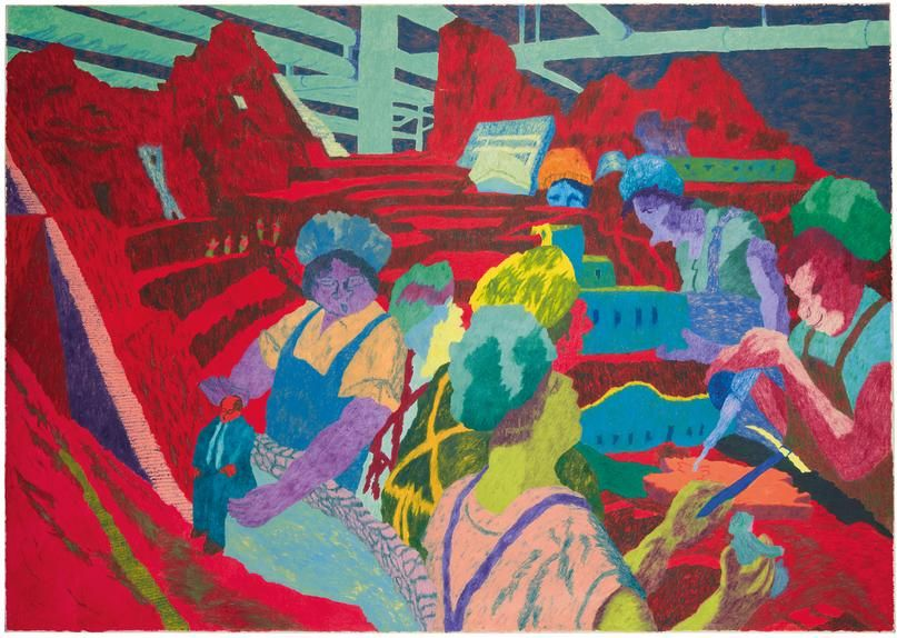 Works like Irving Marcus's 'Fifty Years Ago' will be on view at Parker Gallery as part of Frieze.