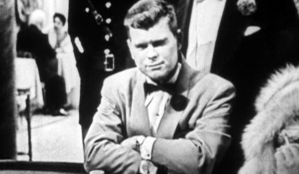 Climax Barry Nelson James Bond sits at the card table