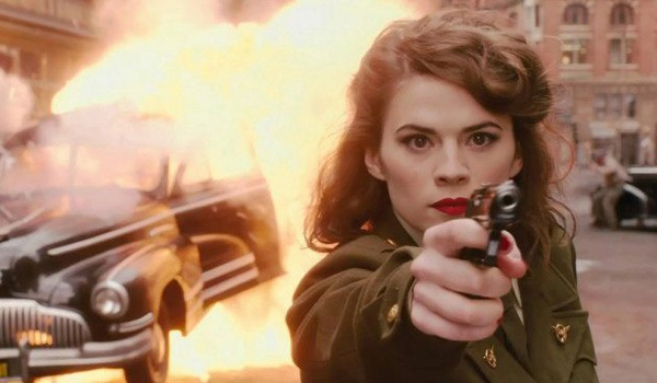 Peggy Carter in Agent Carter heading to Disney+