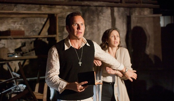 Ed and Loraine Warren in The Conjuring