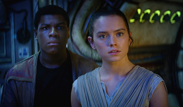 Rey and Finn star wars the force awakens