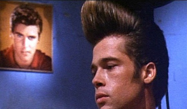 Brad Pitt's hair in Johnny Suede