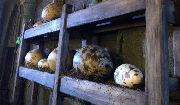 Dragon Eggs Hagrid's Magical Creatures Motorbike Adventure