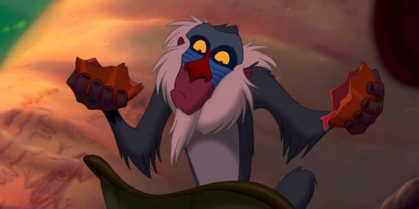 Rafiki - The Lion King