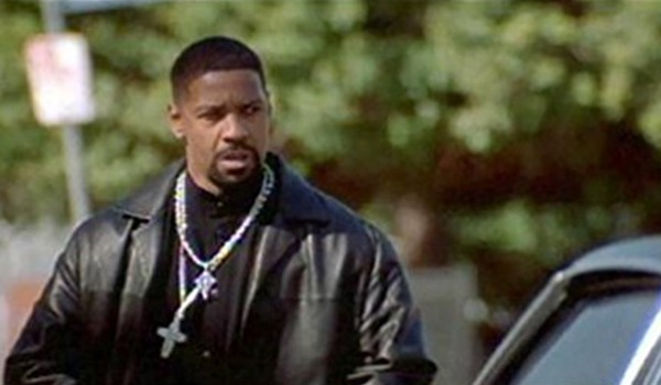 Denzel Washington as a corrupt cop in Training Day