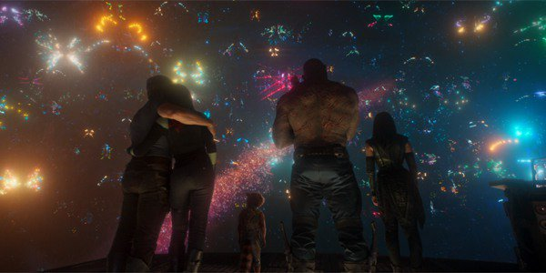 Guardians of the Galaxy Watching Yondu Fireworks Ravager Funeral