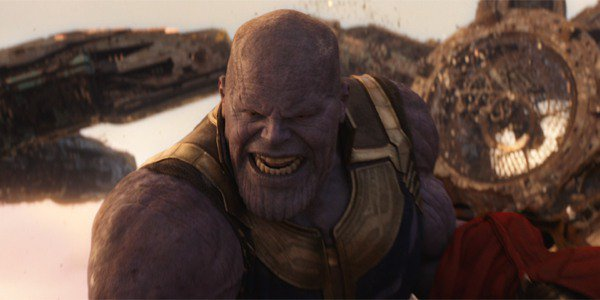 Thanos Avengers Infinity War on Titan battling The Avengers and Guardians of the Galaxy