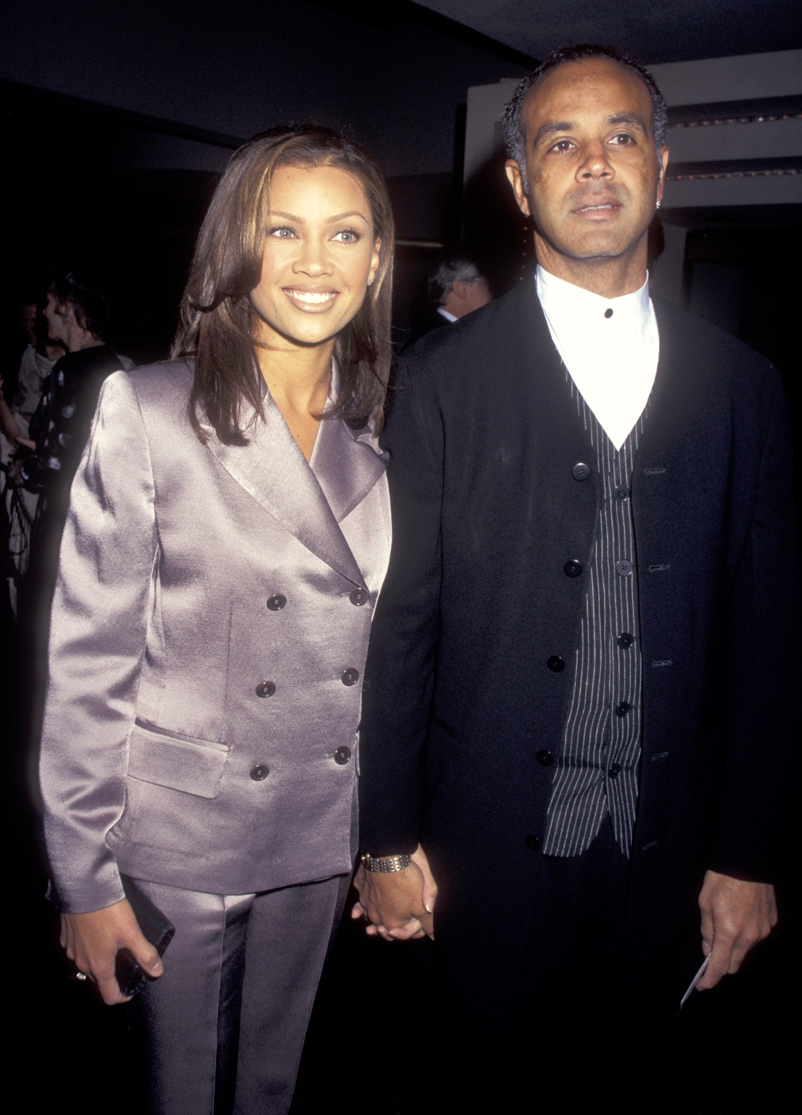 Vanessa L. Williams and Ramon Hervey during VictorVictoria Broadway Opening at Marquis Theater in New York City