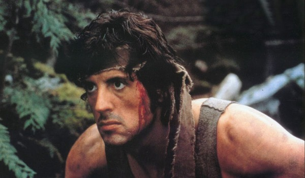 Sylvester Stallone as John Rambo in First Blood