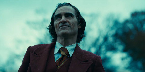Arthur Fleck smiling in Joker