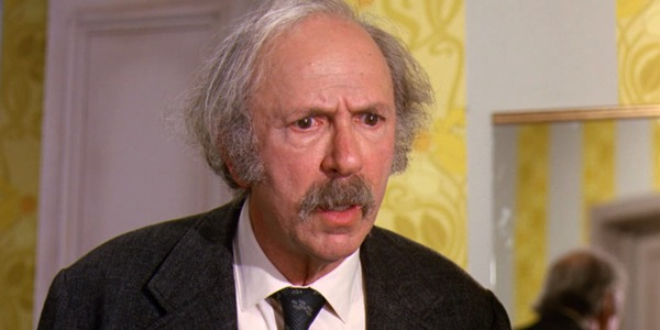 Grandpa Joe gets angry with Mr. Wonka Willy Wonka and the Chocolate Factory